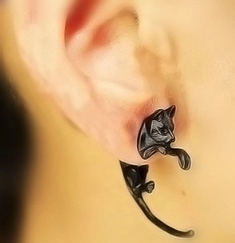1(PCS) Long Tail Small Leopard Earring - OneStopEgg.com