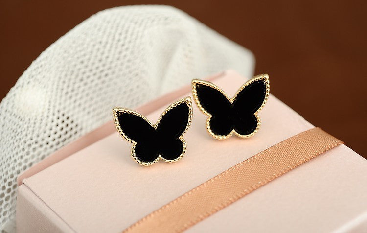 2017 New Butterfly Stud Earrings