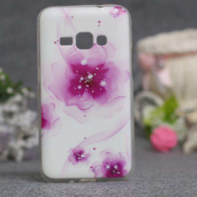 Abstract Flower Painting Case For Samsung Galaxy