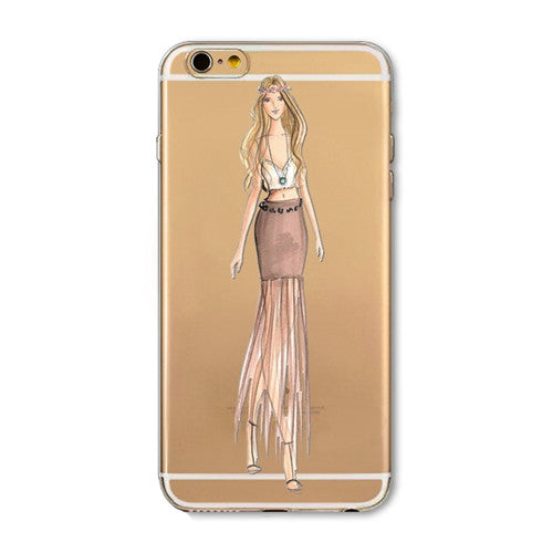 Super sexy and beautiful girl iPhone case