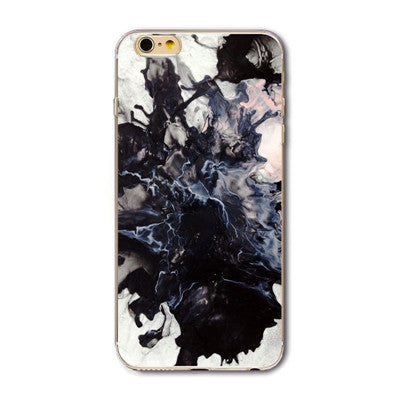 Limited collection of marble print iPhone case