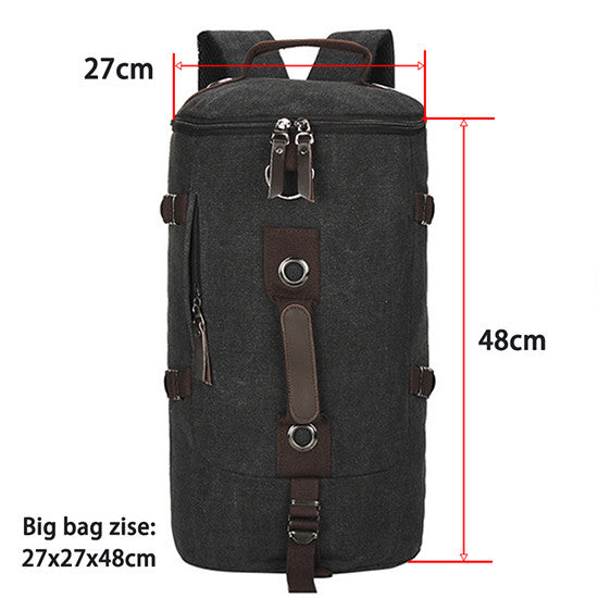 Large capacity mountaineering backpack