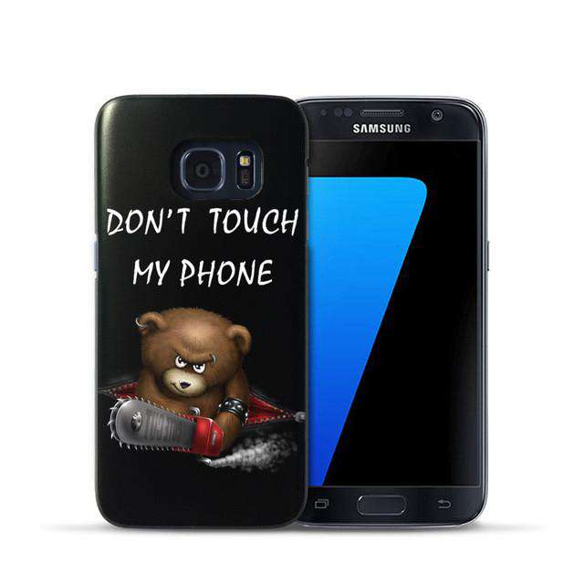 Cute Cartoon Phone Case for Samsung Galaxy S7