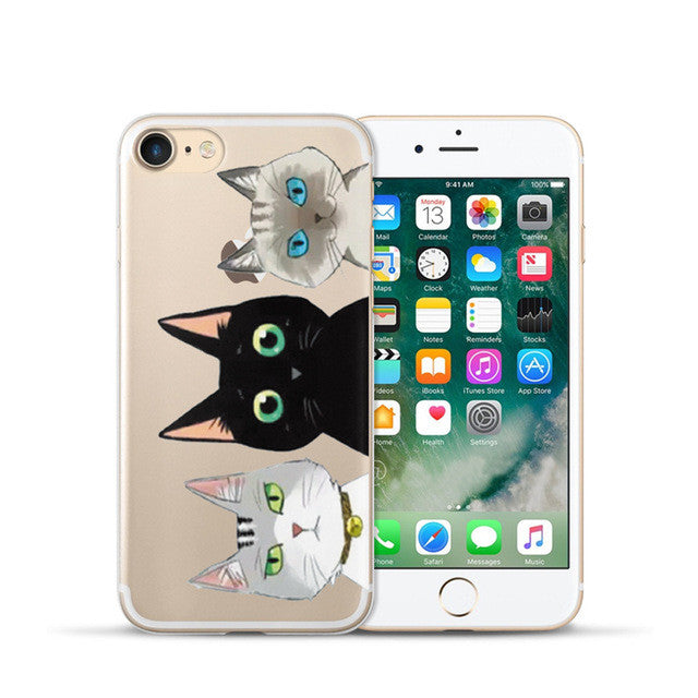 Cute artistic Silicone phone Case