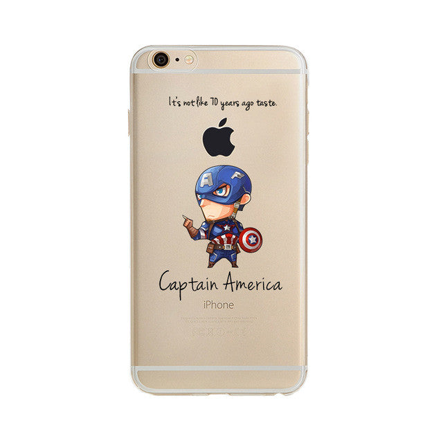 Cute Avengers covers For Apple iPhone