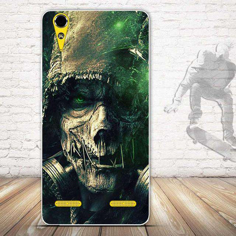 Cartoon Painted Soft TPU Silicone Phone Case