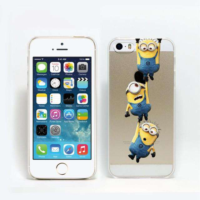 Super Hot Minions Design Cover For iphone 5