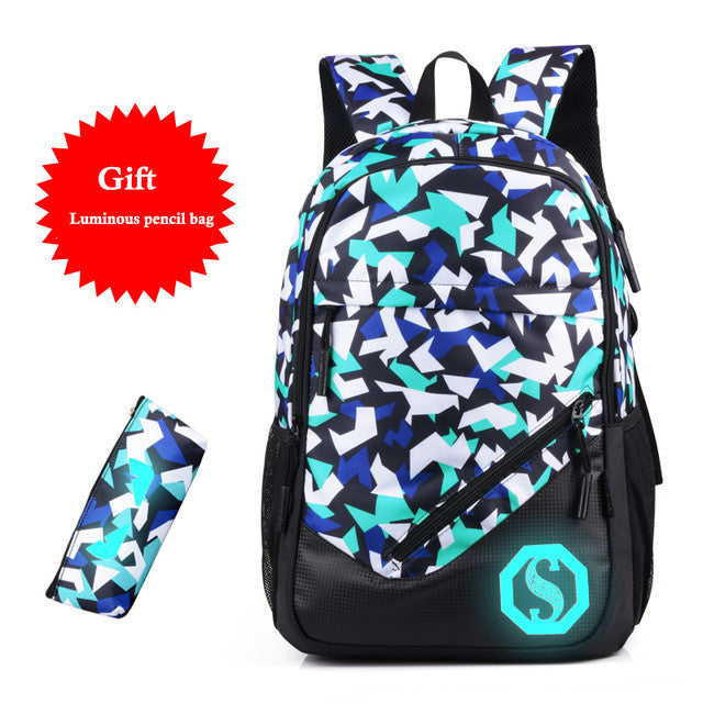 New Design USB Charging Backpacks
