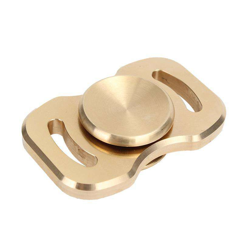 High-quality light styled brass hand fidget spinner