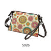 High Quality Colorful Leather Crossbody Bag