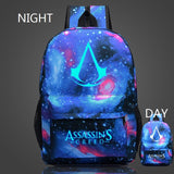 Luminous Assassins Creed Backpacks
