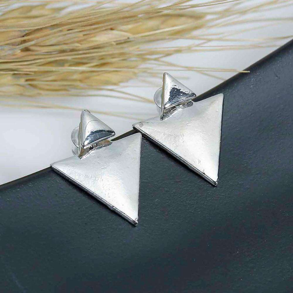 Triangle Punk Stud Earrings