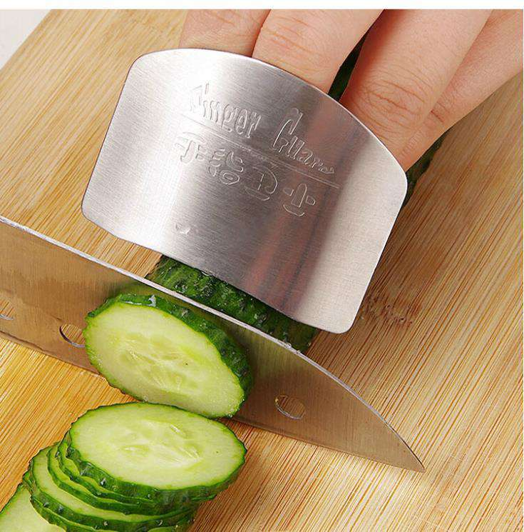 Kitchen Must Have! Stainless Steel Finger Protector Guard