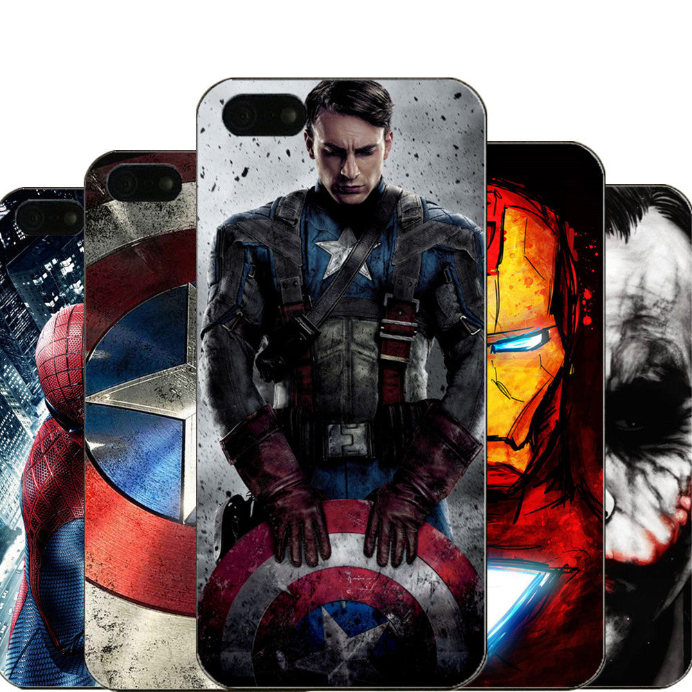 Captain America, iron Man & Deadpool Design
