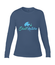 Ladies Shell Nature Original Long Sleeve Fitted Top