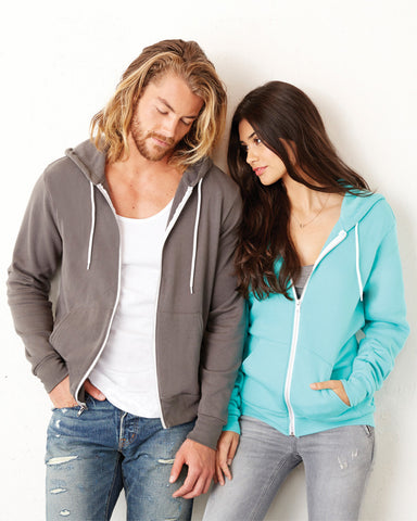 Bella + Canvas 3739 Poly-Cotton Fleece Hoodie