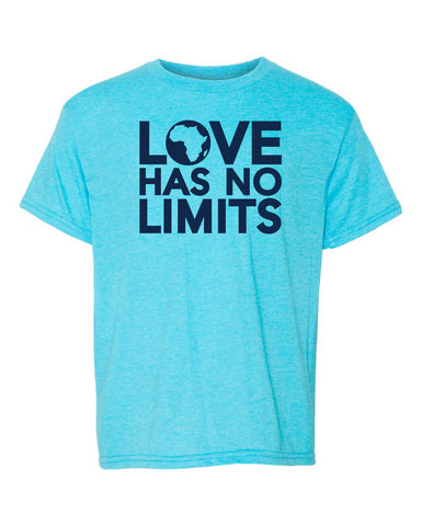 Love Has No Limits  (Htr Caribbean Blue - Youth Sizes)