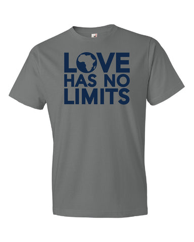 Love Has No Limits  (Storm Grey - Adult Sizes)