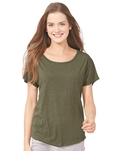 Next Level 6760 Tri-Blend Dolman T-Shirt