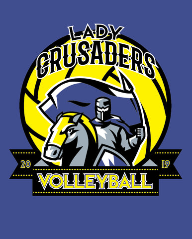 OBCA Lady Crusader Volleyball