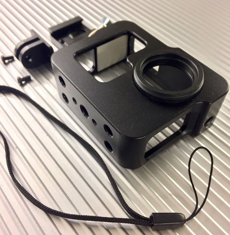 Aluminum housing for GoPro hero 3 3+ 4