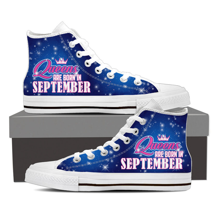 Queens are born in September - shoe