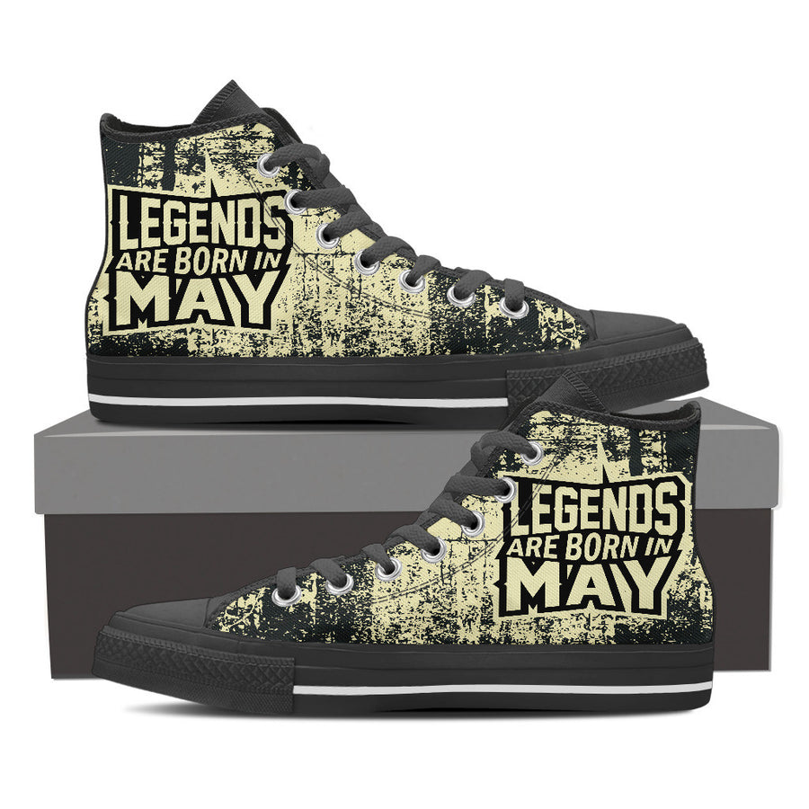 Legends are born in May - shoe