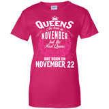 #1 The real queens are born on november 22