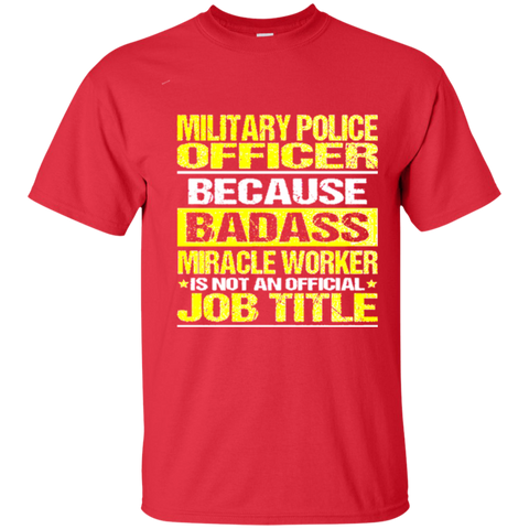 Awesome Tee For  Military Police Officer 2397