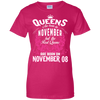 #1 The real queens are born on november 08