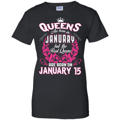 #1 The real queens are born on January 15
