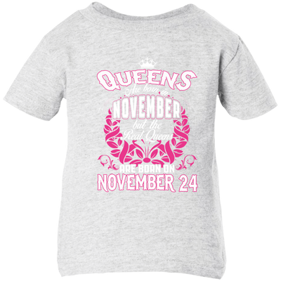 #1 The real queens are born on november 24