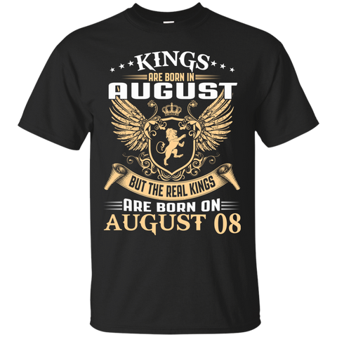 @1 The real kings are born on august 08
