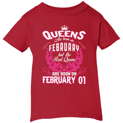 #1 The real queens are born on February 01