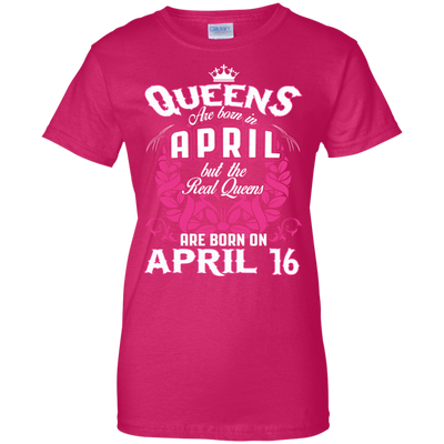 #1 The real queens are born on april 16