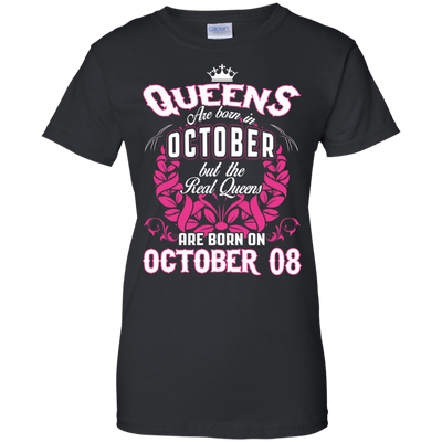 #1 The real queens are born on october 08