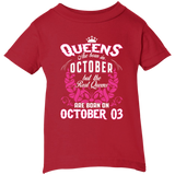 #1 The real queens are born on october 03