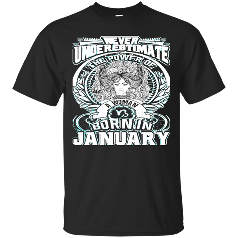 JANUARY - BORN IN JANUARY - GOD FOUND THE BEST WOMEN - JANUARY Shirt - JANUARY tshirt - zodiac - Capricorn - Aquarius - Birthday Gifts - Best seller 9315