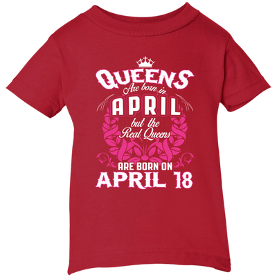 #1 The real queens are born on april 18