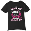 #1 The real queens are born on june 07
