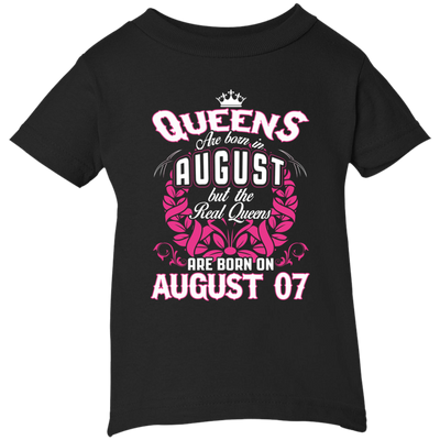 #1 The real queens are born on august 07