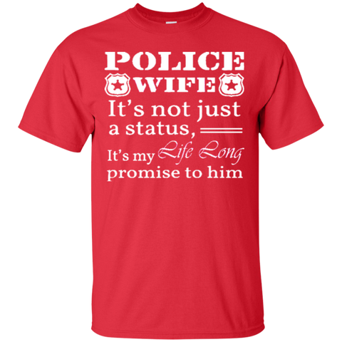 CHRISTMAS POLICE WIFE ITS NOT JUST A STATUS ITS MY LIFE LONG PROMISE TO HIM 2419