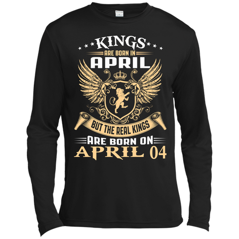 @1 The real kings are born on april 04