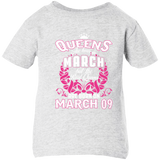 #1 The real queens are born on March 09