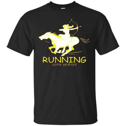 running with horses 4881