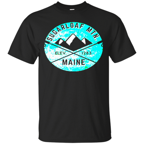 SKIING SUGARLOAF MOUNTAIN MAINE SKI SNOWBOARD HIKING CLIMBING 3 TShirt CHRISTMAS UGLY SWEATER 6845