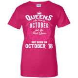 #1 The real queens are born on october 18