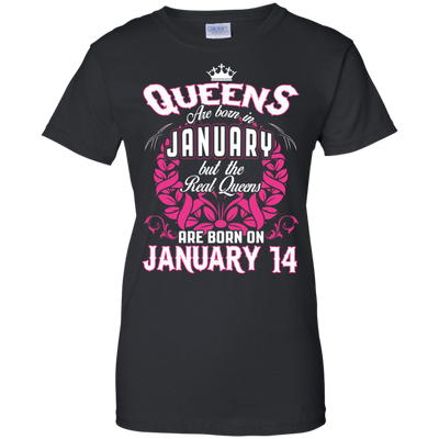#1 The real queens are born on January 14