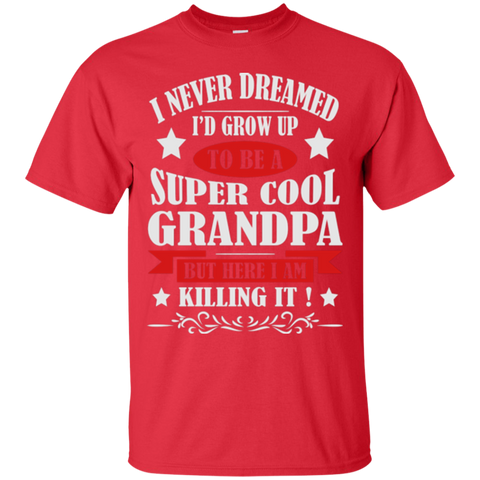 I Never Dreamed Super Cool Grandpa