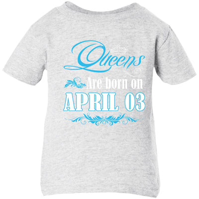 0005 Queens are born on april 03